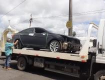 Veículo que atropelou ciclista no final de fevereiro é identificado e apreendido