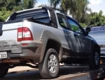 Caminhonete furtada em Frutal é localizada na Zona Rural de Araxá