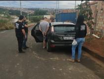 Sete são presos por participação em roubo à uma residência no Bairro Boa Vista