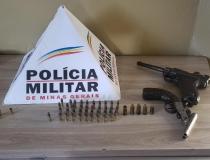 Briga de irmãos termina em apreensão de armas em Araxá