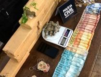 Pai e filho são presos por tráfico de drogas em Araxá