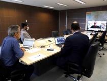 Romeu Zema discute com prefeitos medidas de enfrentamento ao coronavírus e ações para retomada da economia