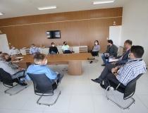 Diretores da Mosaic se reúnem com membros do Comitê de Enfrentamento ao Coronavírus