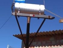 Famílias carentes de Araxá começam a receber sistemas de aquecimento solar