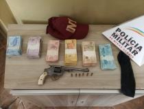 Operação conjunta das Polícias Civil e Militar prende suspeito de assaltar casa lotérica no centro da cidade