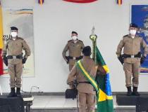 Troca de Comando: cerimônia interna marcou a transição de cargos em Araxá
