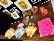 Operação contra o tráfico de drogas sintéticas prende dois em Araxá