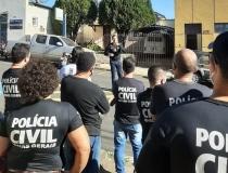 Policiais Civis fazem manifesto contra a Reforma da Previdência em MG
