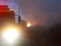 Bombeiros atendem três ocorrências de incêndios florestais num curto intervalo de tempo