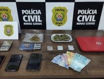 Polícia Civil realiza operação de combate ao tráfico de drogas