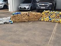 Força Integrada de Combate ao Crime Organizado apreende 350 kg de maconha no Triângulo Mineiro
