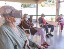 Projeto leva realidade virtual à Instituições de longa Permanência para minimizar os impactos do isolamento social