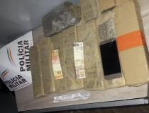 Polícia Militar apreende 11 tabletes de maconha na Rodoviária de Araxá no último fim de semana