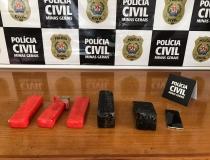 Polícia Civil prende suspeito de tráfico de drogas em Ibiá e apreende mais de 3 kg de maconha