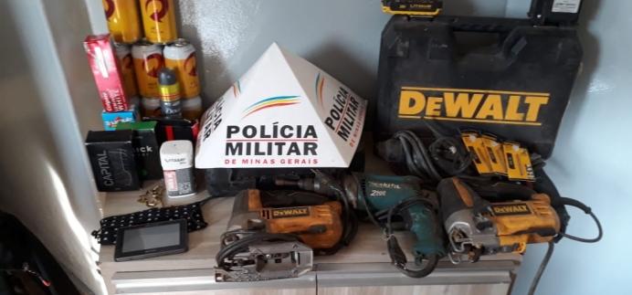 Homem é preso após invadir e furtar mais de 20 itens de residência no Bairro São Pedro