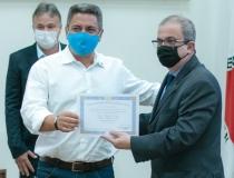 Robson e Mauro são diplomados pela Justiça Eleitoral