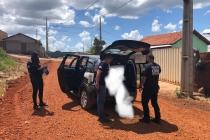 Foragido da Justiça cearense é preso em Campos Altos