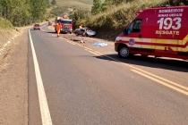 Acidente na estrada de Tapira deixa um morto nesta sexta-feira