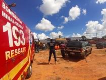 Polícia Civil e Corpo de Bombeiros localizam mulher desaparecida em Araxá