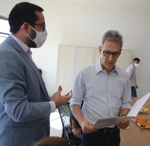 Raphael Rios solicita Samu para atender Araxá e microrregião em reunião com o governador Romeu Zema