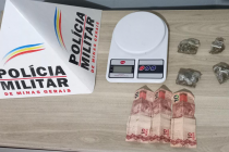 POLÍCIA MILITAR APREENDE ADOLESCENTES COM DROGAS EM ARAXÁ/MG