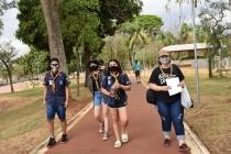 Escoteiros promovem campanha de educação ambiental