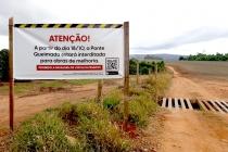 Ponte Queimada fica interditada a partir de segunda para reforma
