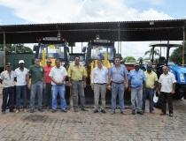 Prefeitura adquire novos equipamentos para manutenção de estradas vicinais